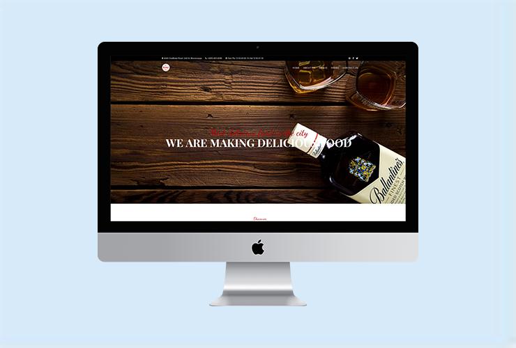 奶茶党部网页设计